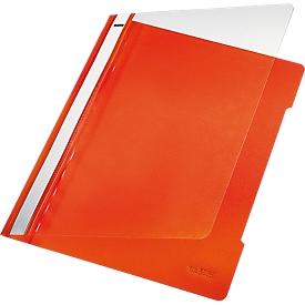 LEITZ® snelhechter 4191, A4, pvc, 25 stuks, oranje