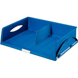 LEITZ® sorteerbak Sorty Jumbo, A3 liggend, polystyreen, blauw
