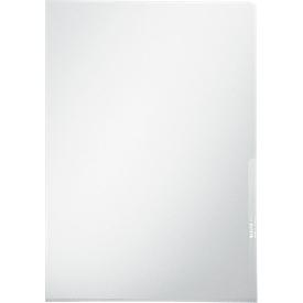 LEITZ® zichtmap Premium 4100, A4, glad, 100 stuks, glashelder