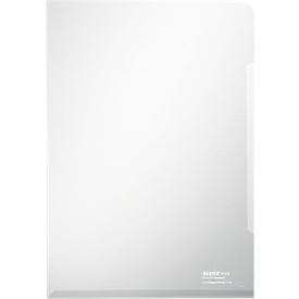 LEITZ® zichtmap Premium 4153, A4, glad, 100 stuks, glashelder