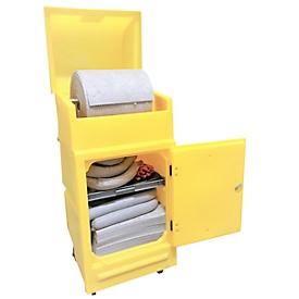 Lekkage set voor noodgevallen in onderhoudskar, universeel voor div. koel-/oplos-/smeermiddelen & olie