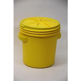 Lekkage set voor noodgevallen in veiligheidsvat met UN-codering voor chemicaliën, capaciteit set 75 liter