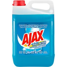 Limpiacristales AJAX 3-fold active, azul, 5 l en bote