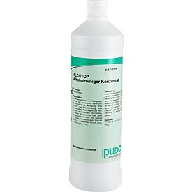 Limpiador de mantenimiento Alcotop, 6 botellas de 1 l