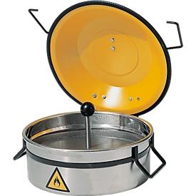 Limpiador de piezas pequeñas, de acero inoxidable, 2,5 l