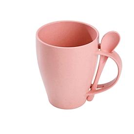 Löffeltasse, Pink, Standard, Auswahl Werbeanbringung optional