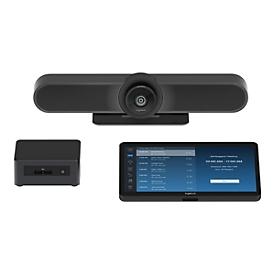 Logitech Tap for Zoom Small Rooms - Kit für Videokonferenzen - mit Intel NUC (Core i7)