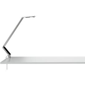 LUCTRA® bureaulamp Linear Table Pro, tafelklem, aluminium