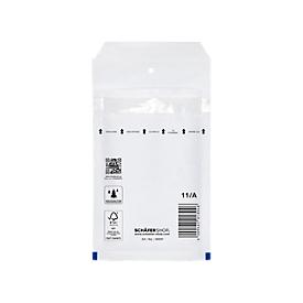 Luftpolstertasche, weiß, 200 St., 95x165 mm/120x175 mm
