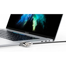 MacBook slotenset Set Compulocks Ledge, voor MacBook Pro 13 touch, adapter, T-bar, zekeringskabel 1,8 m