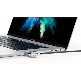 MacBook slotenset Set Compulocks Ledge, voor MacBook Pro 15 touch, adapter, T-bar, zekeringskabel 1,8 m