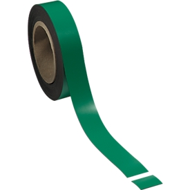 Magneetband, 30 mm x 100 m, lichtgroen