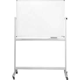 magnetoplan® whiteboard, mobiel, gelakt, H 900 x B 1200 mm