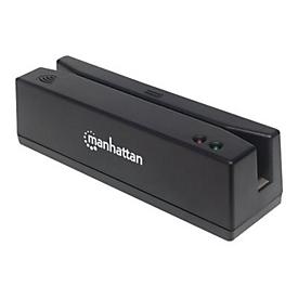 Manhattan USB-Magnetkartenleser, USB-A-Stecker, 3-Spuren-Leser - Magnetkartenleser - USB