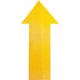 Marcado de suelo Durable, autoadherente en forma de flecha, para suelos, 10 unidades