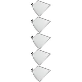 Marcos magnéticos DURABLES DURAFRAME MAGNETIC, DIN A3, plateado-metálico, 5 piezas
