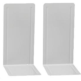 MAUL boeksteunen voor ordners, 240 x 140 x 120 mm, grijs