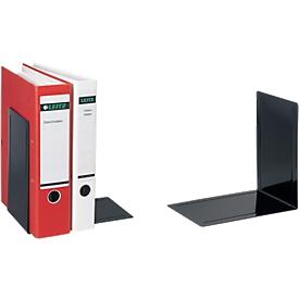 MAUL boeksteunen voor ordners, 240 x 168 x 240 mm, zwart