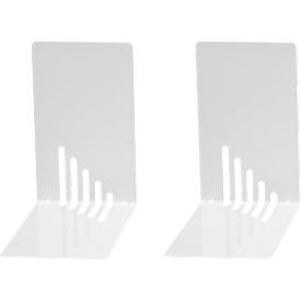 MAUL design boekensteunen, wit