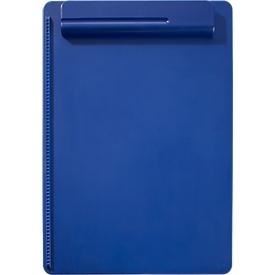 MAUL klembord, A4, kunststof, met penhouder, blauw