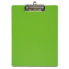 MAUL Klemmbrett flexx, DIN A4, Polypropylen, hellgrün