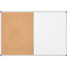 Maul KombiBoard MAULstandard, White- und Pinnboard in einem, 450 x 600 mm