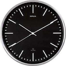 MAUL wandklok MAULfly, diameter 30 mm, Radiografische klok, zwart