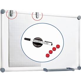 MAUL Whiteboard 2000 SET  900 x 1200 mm