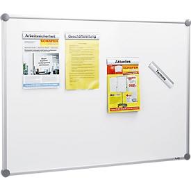 MAUL Whiteboard 90/120 SET, Alumium-Klemmleisten