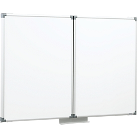 MAUL Whiteboard Klapptafel, 2 Flügel, 1200 x 1000 mm
