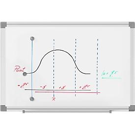 MAUL whiteboard MAULstandard, B 450 x H 300 mm, gelakt oppervlak