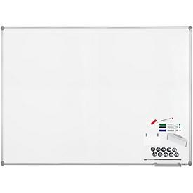 MAUL Whiteboard Premium 2000 SET, silber, kunststoffbeschichtet, 1000 x 1500 mm