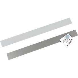 MAUL zelfklevende magneetstrip, grijs