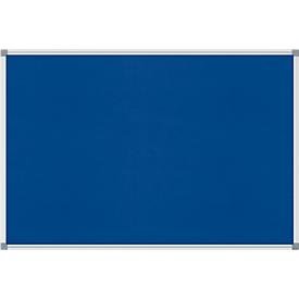 MAULstandard Pinboard, Textil, 600 x 900 mm, blau