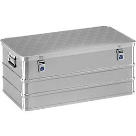 Maxi-Box, Leichtmetall, ohne Stapelecken, 135 l