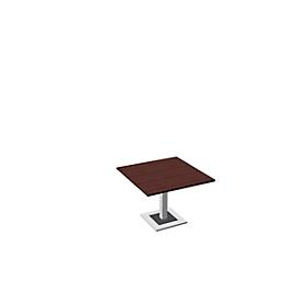 Mesa de reuniones Quandos, An 1000 x P 1000mm, arce Brazil