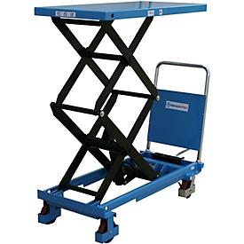 Mesa elevadora de tijera doble manual SPF680