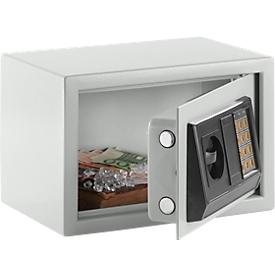 Meubilair inbouwkast S-25 E, staal, elektronisch slot, lichtgrijs, elektronisch slot, lichtgrijs