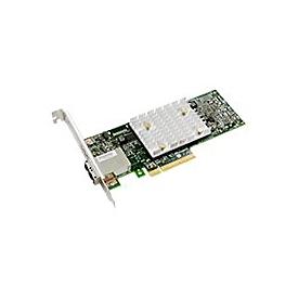 Microchip Adaptec HBA 1100 8e - Speicher-Controller - SATA 6Gb/s / SAS 12Gb/s - PCIe 3.0 x8