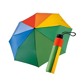 Mini-Taschenschirm Rainbow - manuell, Standard, Auswahl Werbeanbringung optional