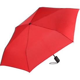 Mini-Taschenschirm, Rot, Standard, Auswahl Werbeanbringung optional