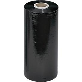 Minipelícula retráctil para máquina, negro, 23 µm, 1700 m de largo