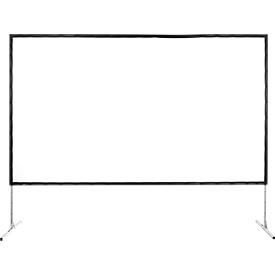 Mobiel projectiescherm met kader Fold Exclusiv, 2200 x 1700 mm