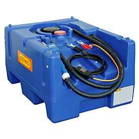 Mobiel tankstation CEMO Blue-Mobil EASY, met dompelpomp CENTRI SP30 12 V, 125 l tank voor AdBlue®, B 800 x D 600 x H 450 mm