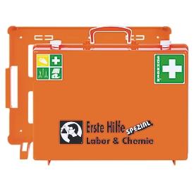 Mobiele EHBO koffer, categorie laboratorium & chemie