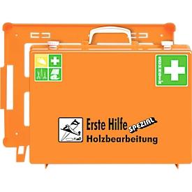 Mobiler Erste-Hilfe-Koffer, Bereich Holzbearbeitung
