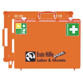Mobiler Erste-Hilfe-Koffer, Bereich Labor & Chemie