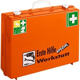 Mobiler Erste-Hilfe-Koffer, Bereich Werkstatt