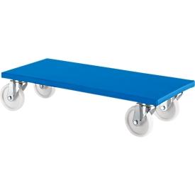 Möbelroller 100 K1, blau, 2 Stück