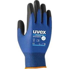 Montagehandschoen uvex phynomic wet, polyamide/elastaan, Aquapolymeer-coating, EN 388: 3131 X, ademend, 10 paar, maat 9